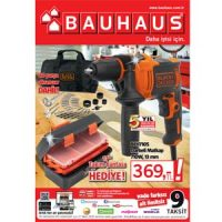 Bauhaus 29 Şubat-27 Mart 2020 kataloğu