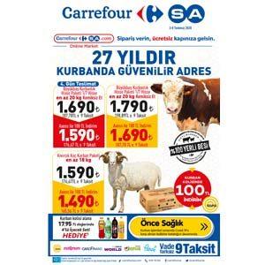 Carrefour 3 Temmuz-8 Temmuz 2020 Kataloğu
