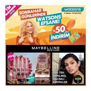 Watsons Eylül 2020 kataloğu