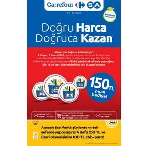 Carrefour 15 Nisan-30 Nisan 2021 Kataloğu