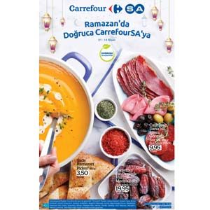Carrefour 1 Nisan-14 Nisan 2021 Kataloğu